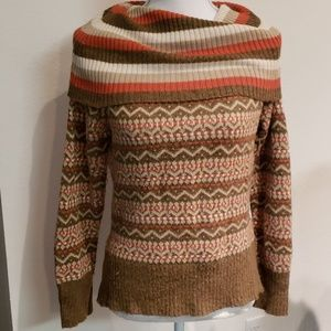 Anthropologie style winter sweater